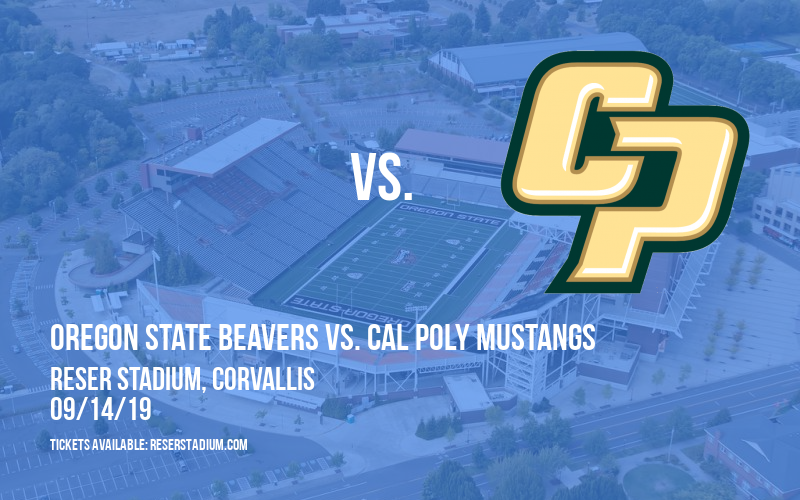 Oregon State Beavers vs. Cal Poly Mustangs at Reser Stadium