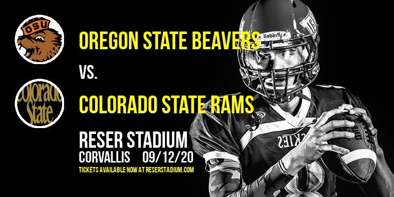 Oregon State Beavers vs. Colorado State Rams at Reser Stadium