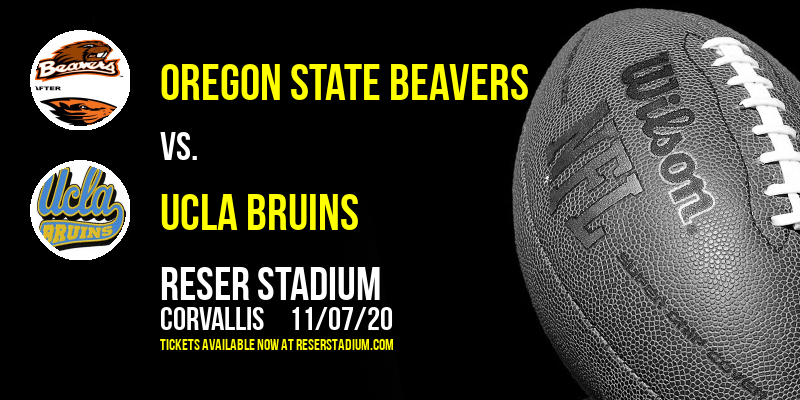 Oregon State Beavers vs. UCLA Bruins at Reser Stadium