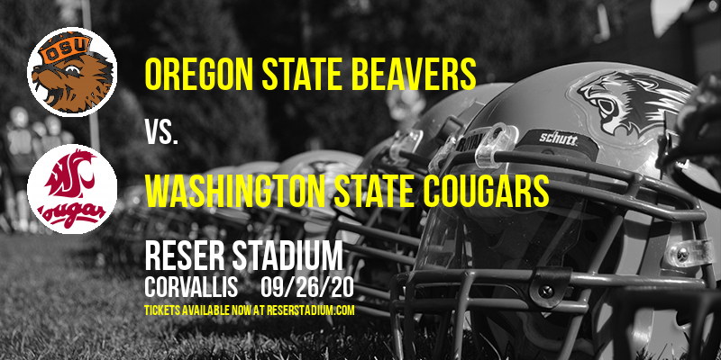 Oregon State Beavers vs. Washington State Cougars at Reser Stadium