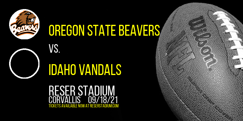 Oregon State Beavers vs. Idaho Vandals at Reser Stadium