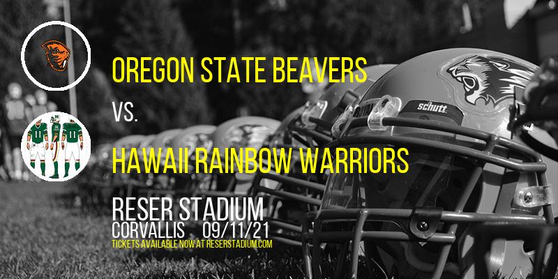 Oregon State Beavers vs. Hawaii Rainbow Warriors at Reser Stadium